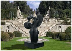 Statua giardino for Vasi in terracotta economici